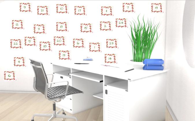 Weihnachtskalender Büro.Adventskalender Jeden Tag Einen Tipp Für Mehr Effizienz Im Büro