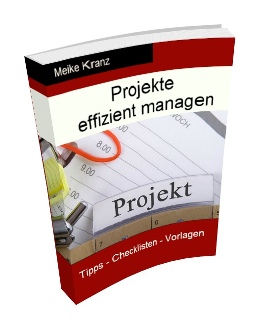 Cover E-Book Projekte effizient managen