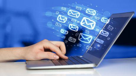 E-Mail-Flut