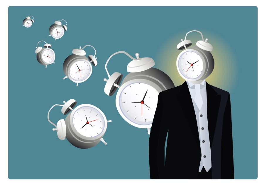 Uhrzeit im Kopf