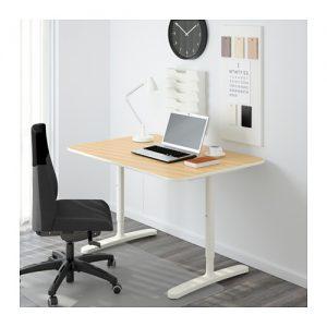 Birke Ist Ein Schönes Holz Design Und Daher Gut Für Büros Geeignet. Weiß  Hat Den Vorteil, Dass Man Sehr Leicht Ergänzende Möbel In Weiß Finden Kann.