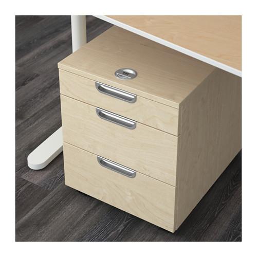 galant schubladenelement auf rollen 123effizientdabei mehr effizienz im b ro mehr ordnung. Black Bedroom Furniture Sets. Home Design Ideas